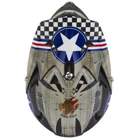ONeal Backflip Fidlock Helmet RL2 Wingman (metal/white)